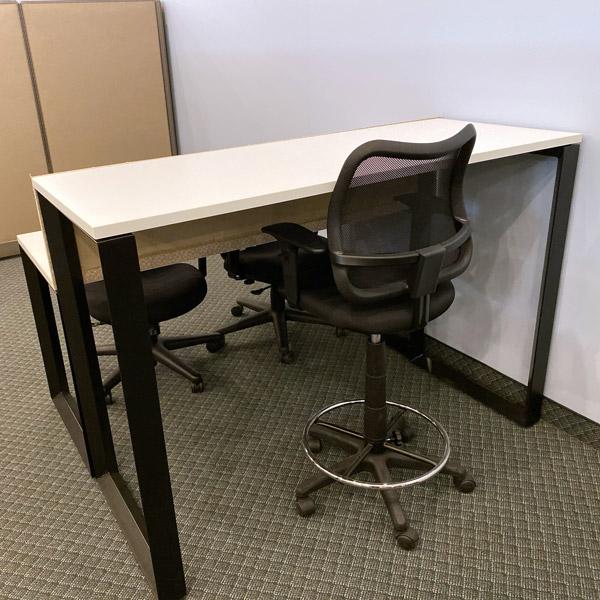 hot desk at OC Squared